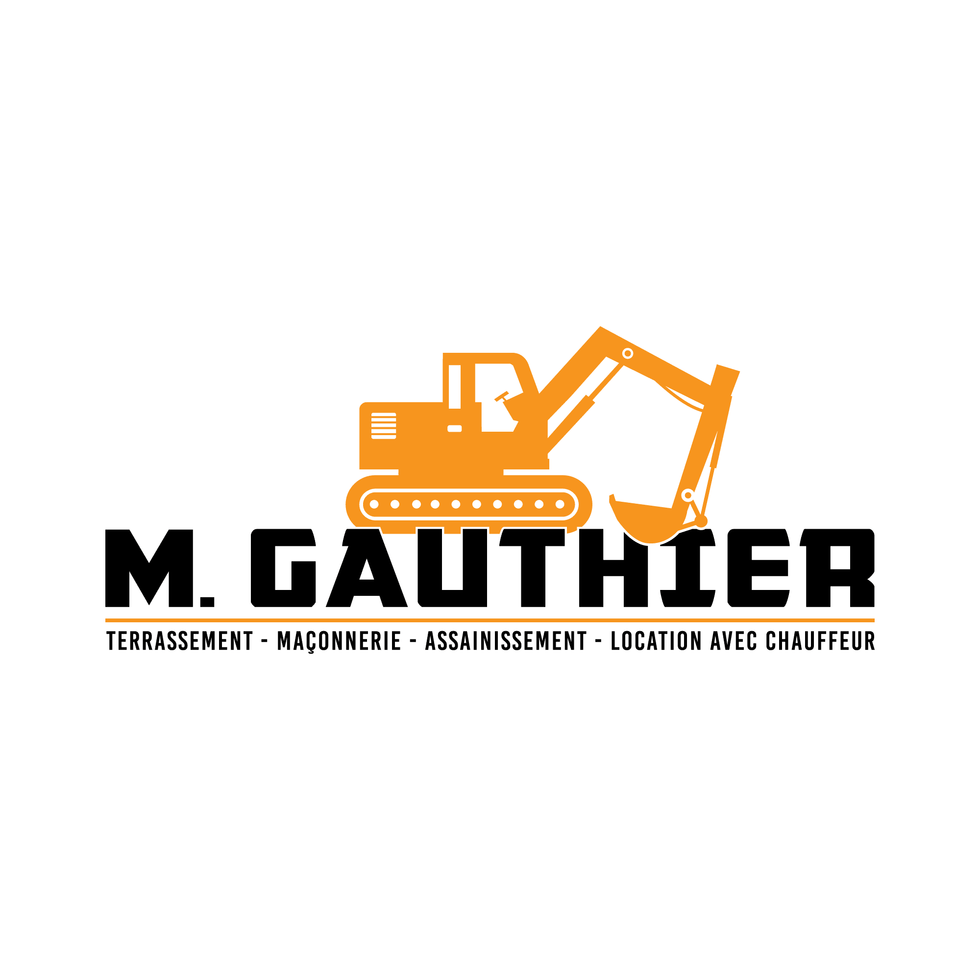 Terrassement 91 logo M. Gauthier